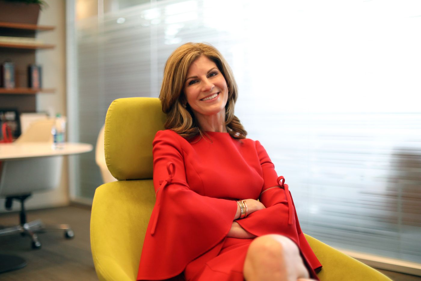 SAP's president Jennifer Morgan, named one of the most powerful women in business this year by Fortune, prepares for a fireside chat with Jill Biden in front of her employees in November.