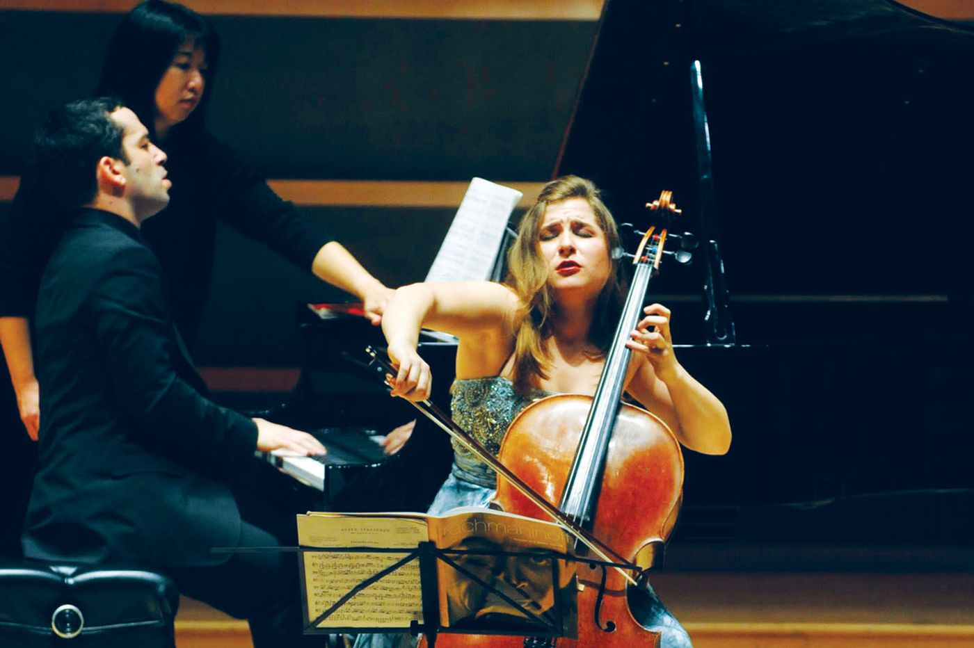 Classical music page-turners turn the page into the modern era