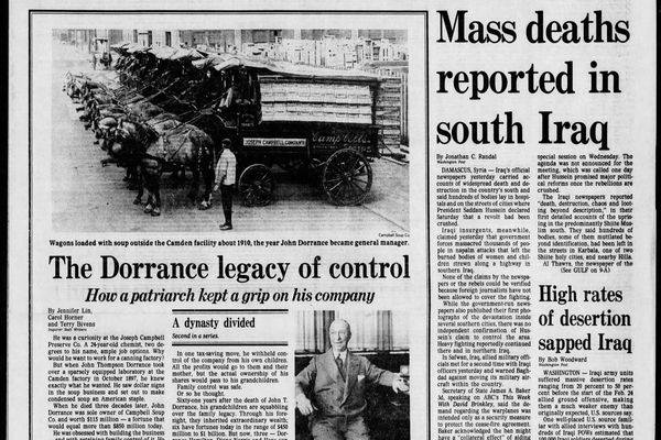 From the Archives: The Dorrance legacy of control at Campbell's