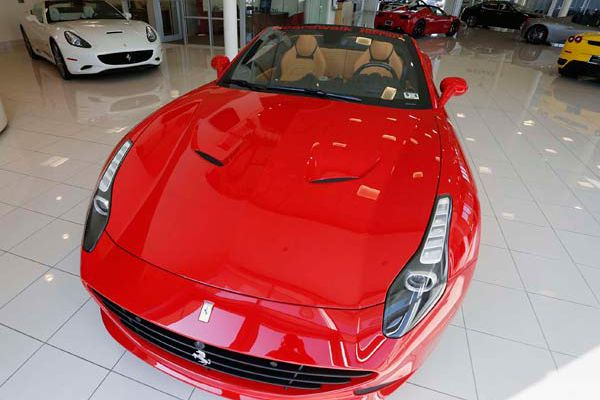 Hot Ferrari marks 60 years in the US