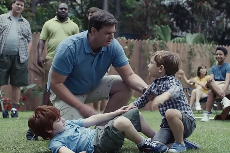 Screenshot from controversial Gillette ad about toxic masculinity.