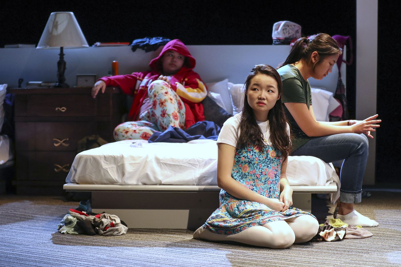 This play about how Asian American teenage girls push back against the male gaze is dark and funny