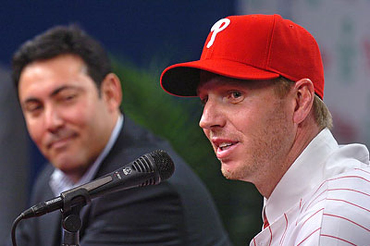 Halladay known for being charitable character