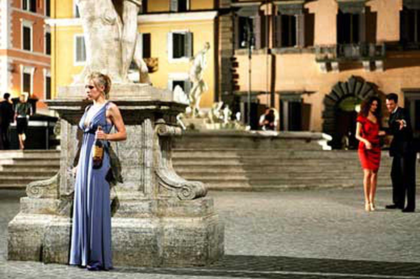 'Rome' with a phew: No romance, no comedy