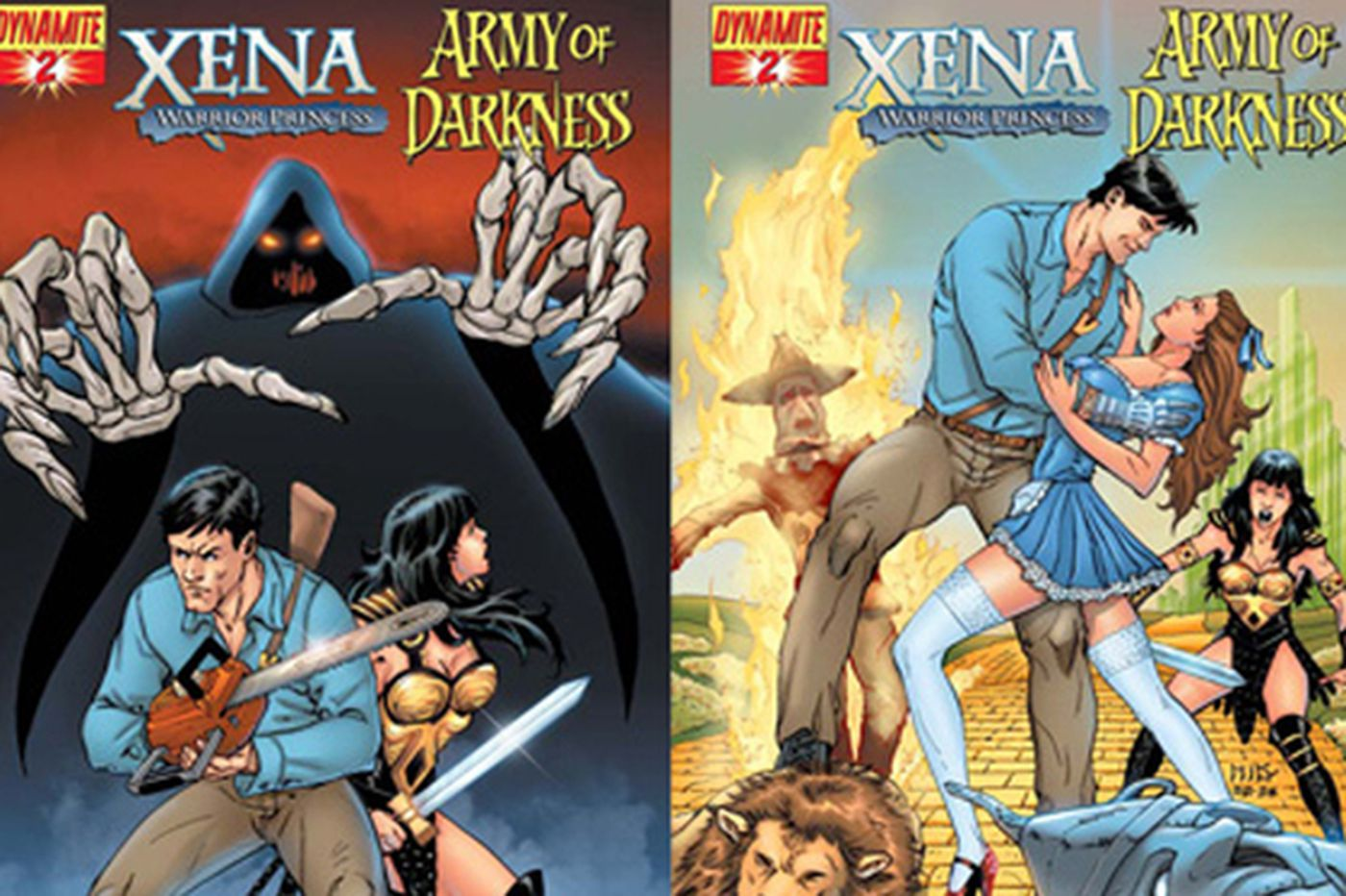 Xena and Ash: An unusual partnership