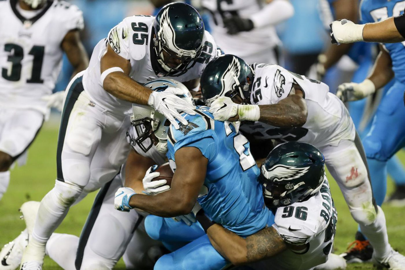 Eagles' new linebacker combinations will be in focus against 49ers | Early Birds
