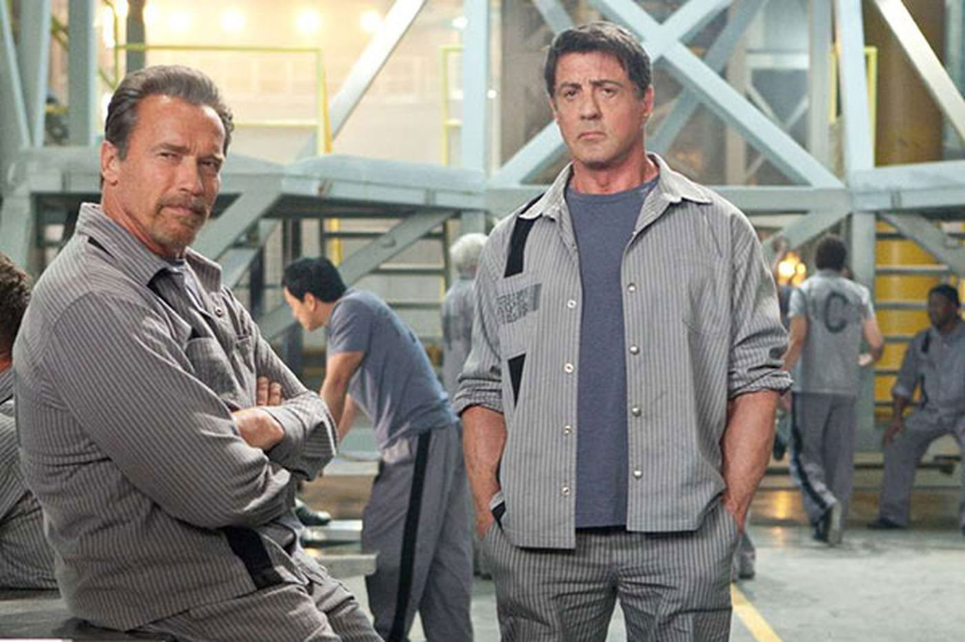 'Escape Plan': Predictable but enjoyable buddy flick