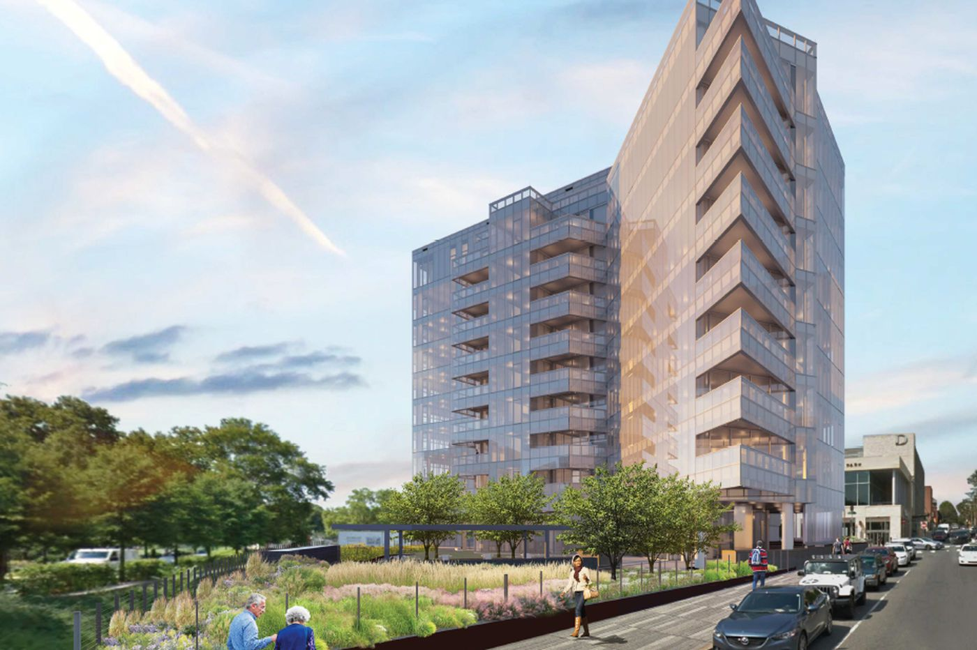 How one small condo building could harm the Parkway, Rodin Museum, and Philly's dream of a new rail park | Inga Saffron