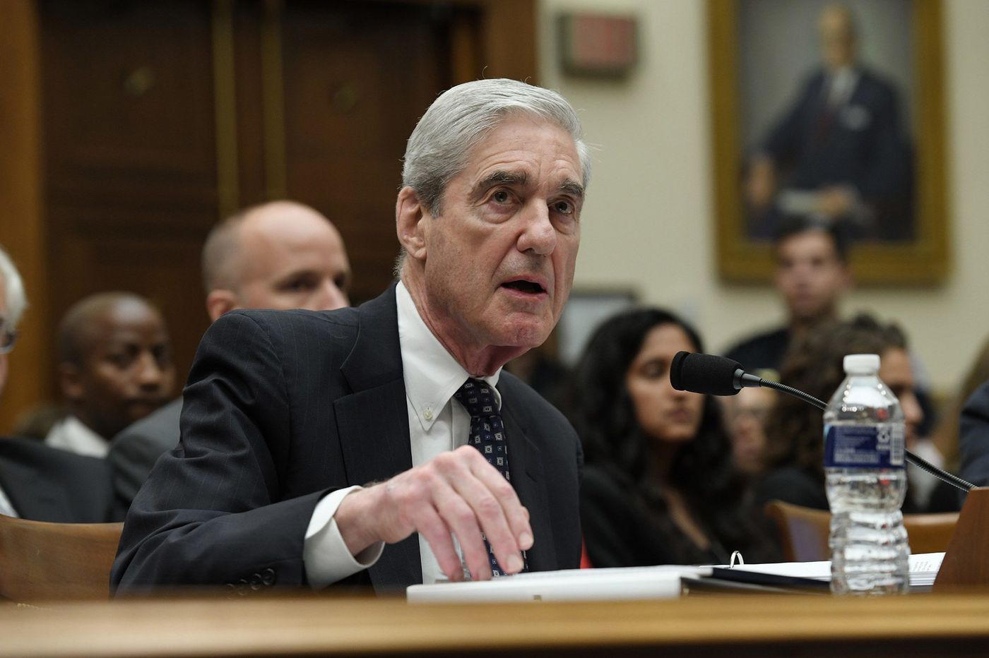 Judge balks at bid to deny House access to Mueller grand-jury material