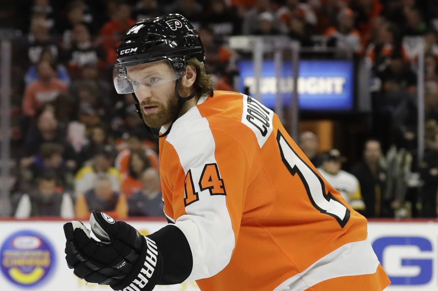 Flyers' Sean Couturier named finalist for Selke Trophy
