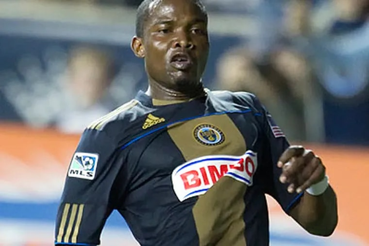 Danny Mwanga is among the Union's candidates for the MLS All-Star team. (Ed Hille/Staff file photo)
