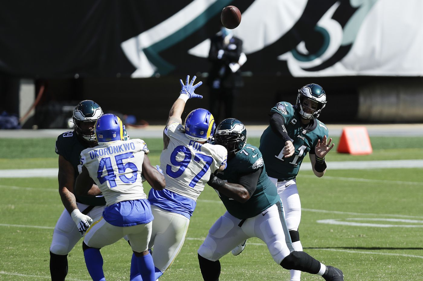 The Eagles want to throw the ball deep, but can they do that and still keep Carson Wentz in one piece? | Early Birds