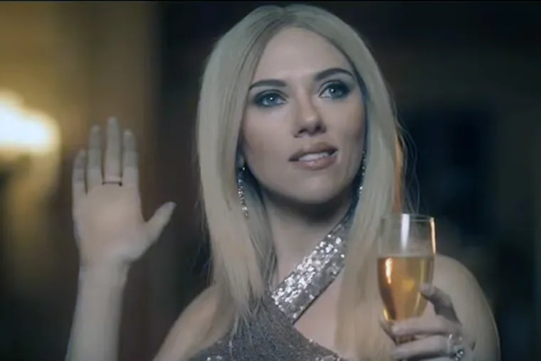 """Scarlett Johansson's portrayal of Ivanka Trump in a mock fragrance commercial prompted an increase in interest in """"complicit."""""""
