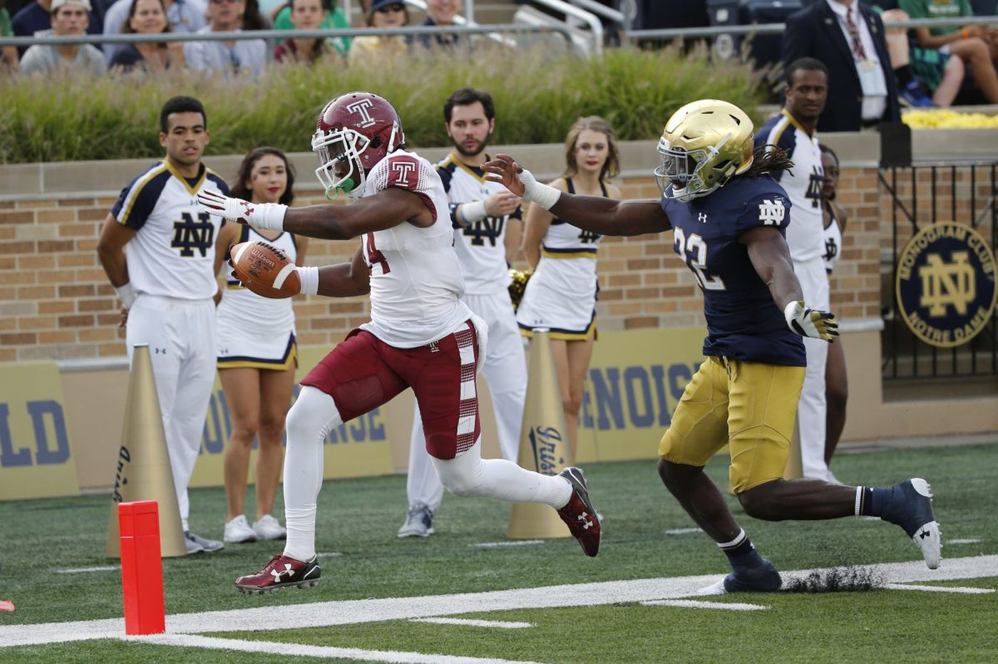 Temple's misfit afternoon at Notre Dame | Mike Jensen