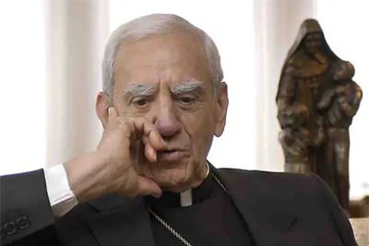 Rev. Anthony Bevilacqua, 87, served as the Roman Catholic archbishop of Philadelphia from 1988 until his retirement in 2003. (File photo)