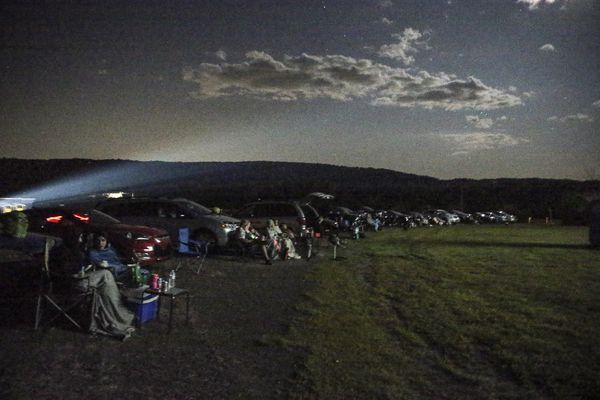 'Magnet for strange': Nostalgic Pa. drive-in lets you sleep over, bring your dog, get weird