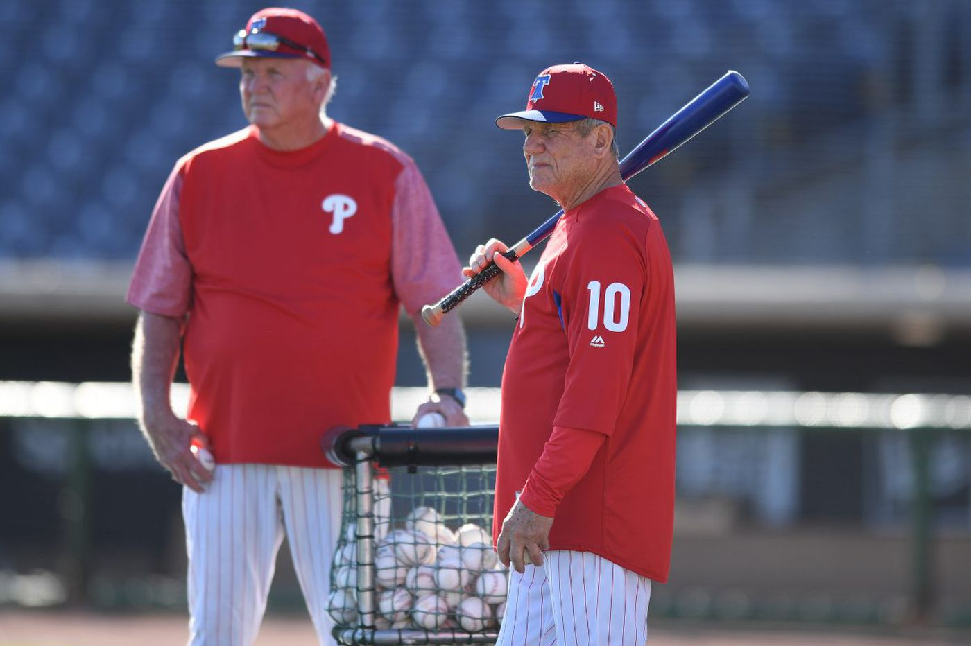 Charlie Manuel, Larry Bowa intrigued by Phillies' analytics and Gabe Kapler   Marcus Hayes
