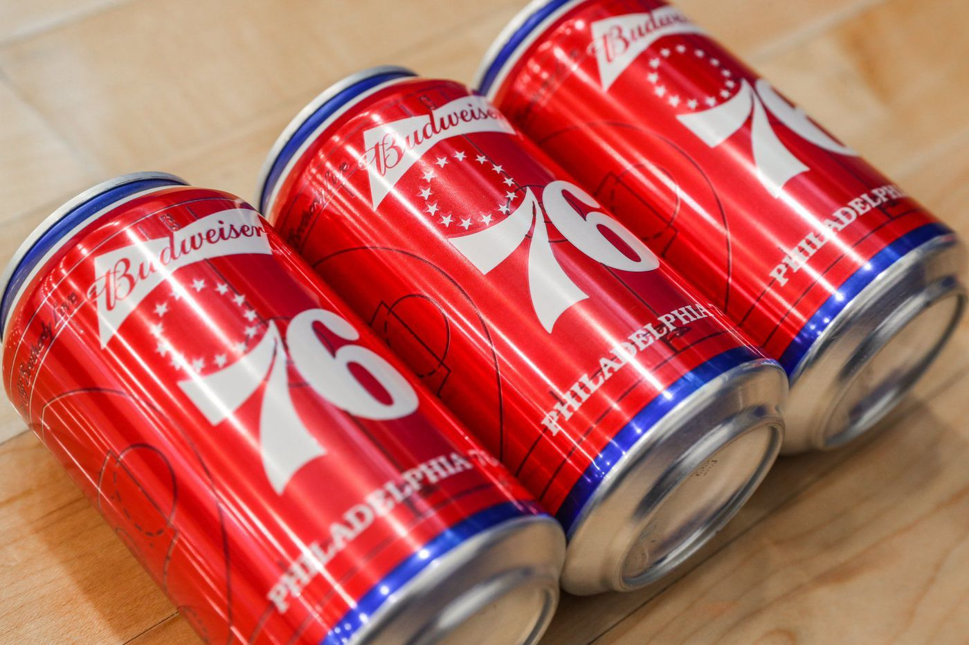 Sixers get their own Budweiser can, but this isn't their first brew