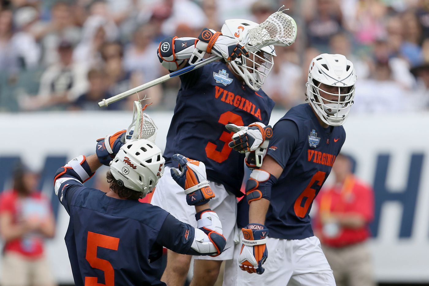 NCAA lacrosse championship: Eagles fan, local Dox Aitken hopes to lead Virginia over Yale at the Linc