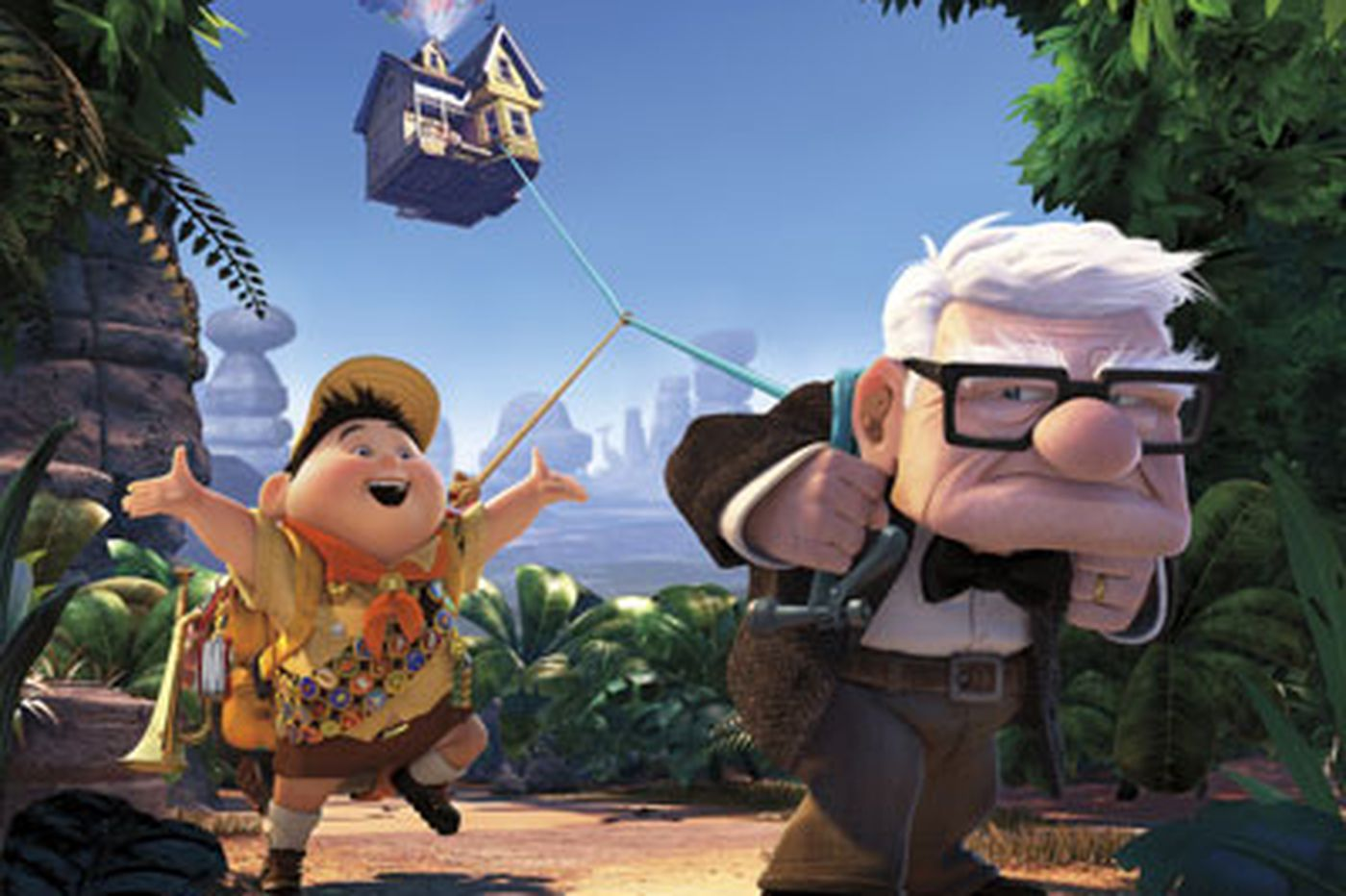 "With the wonderful ""Up"", Pixar reachs new heights"