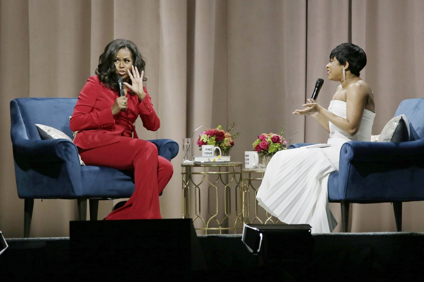 Michelle Obama brought her personal stories of 'Becoming' to the Wells Fargo Center | Elizabeth Wellington
