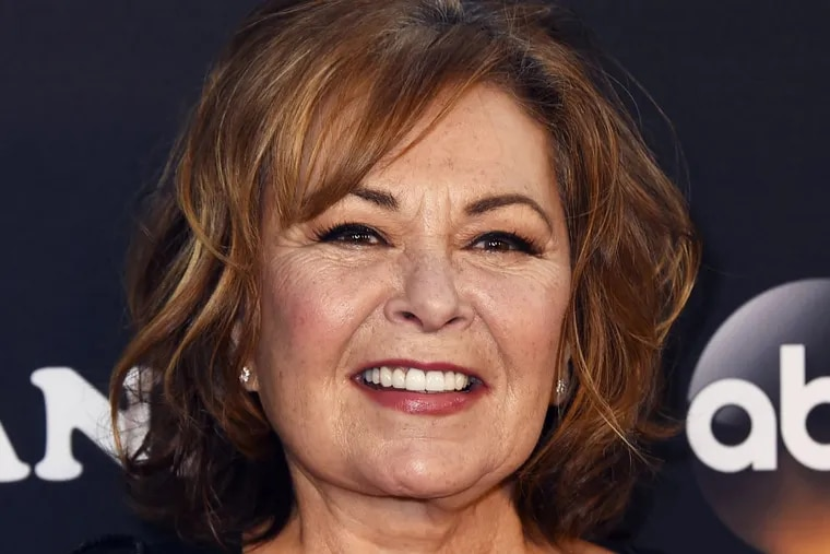 Roseanne Barr arrives at the Los Angeles premiere of  'Roseanne' on Friday, March 23, 2018 in Burbank, Calif.