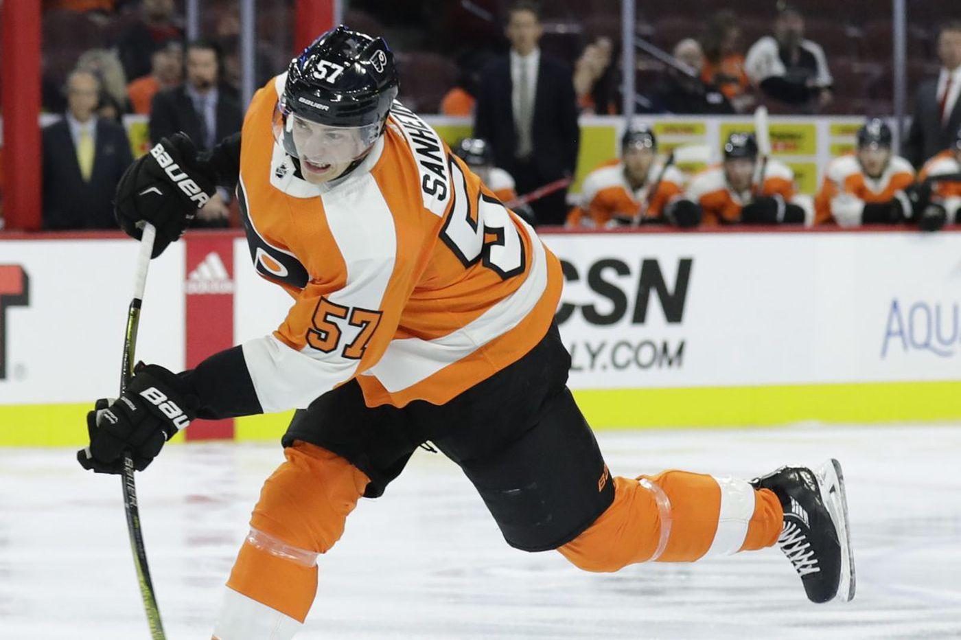 Travis Sanheim still in the Flyers' lineup; Samuel Morin headed to Phantoms?