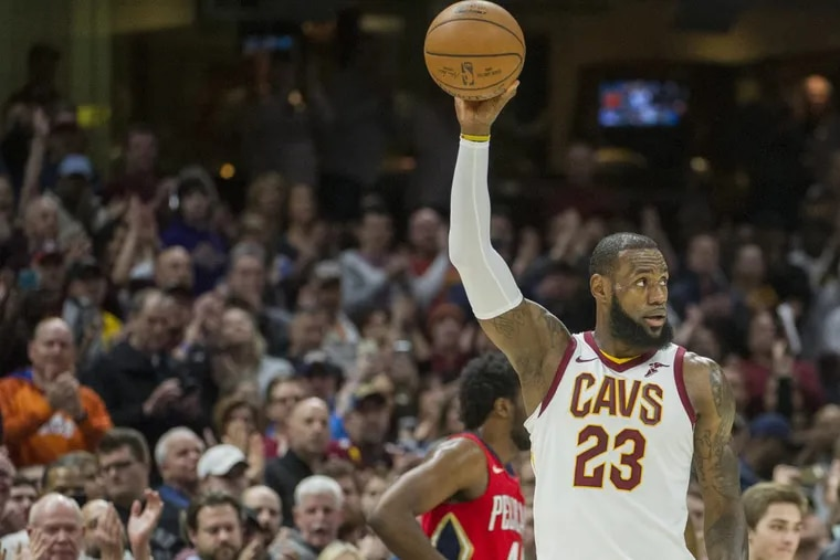 Cavs' star LeBron James is the greatest of all time, according to Brett Brown.