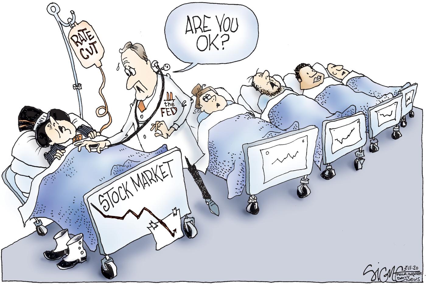 Political Cartoon: Tending the neediest coronavirus victims