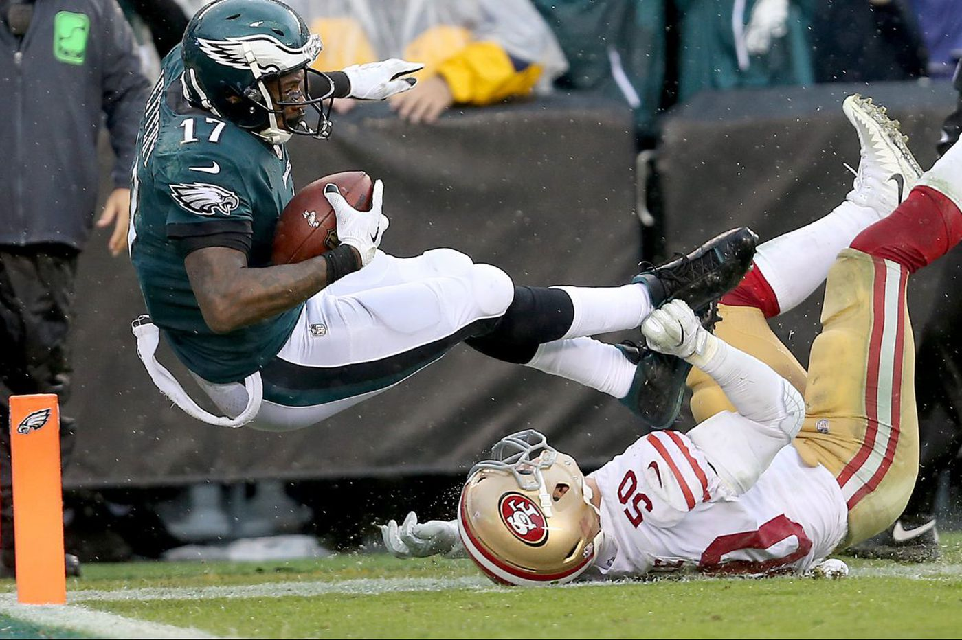 Alshon Jeffery limited in practice, but says ankle will be fine