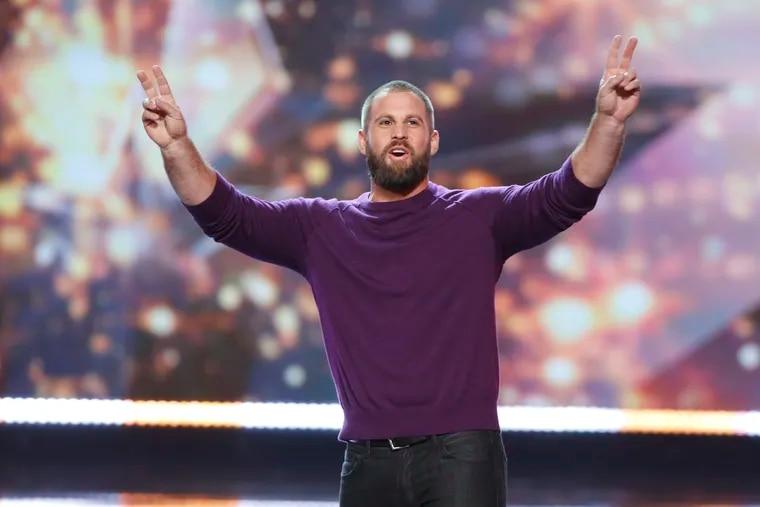 Jon Dorenbos on America's Got Talent back in 2016.