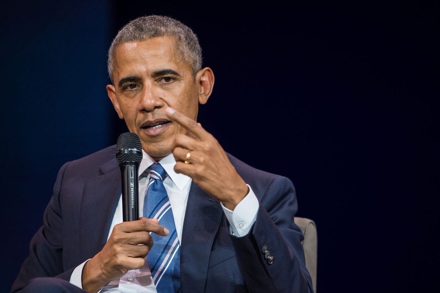 Obama will be the first guest on Letterman's new Netflix talk show