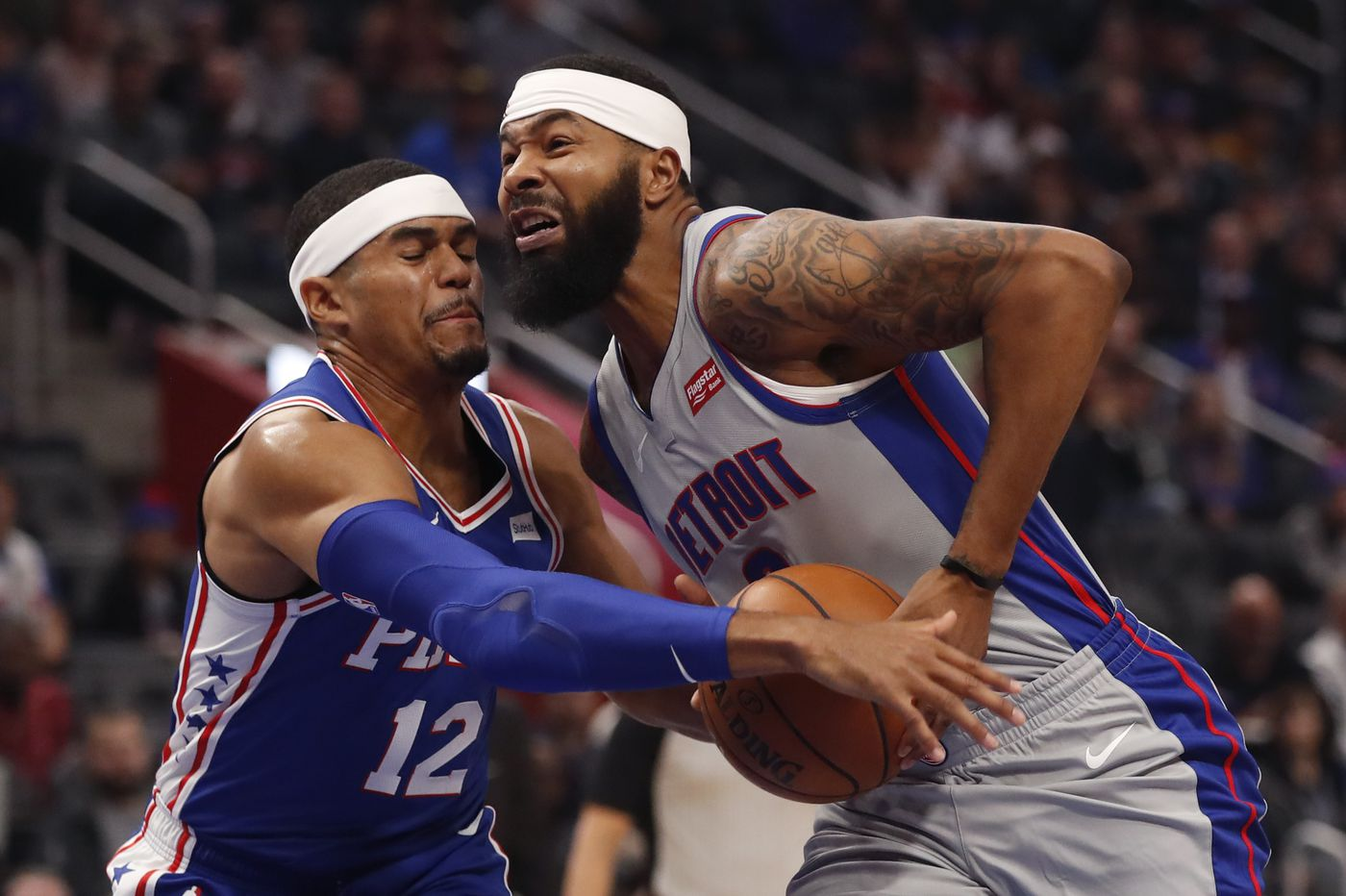 Without Joel Embiid, Sixers take 117-111 road win over the Detroit Pistons