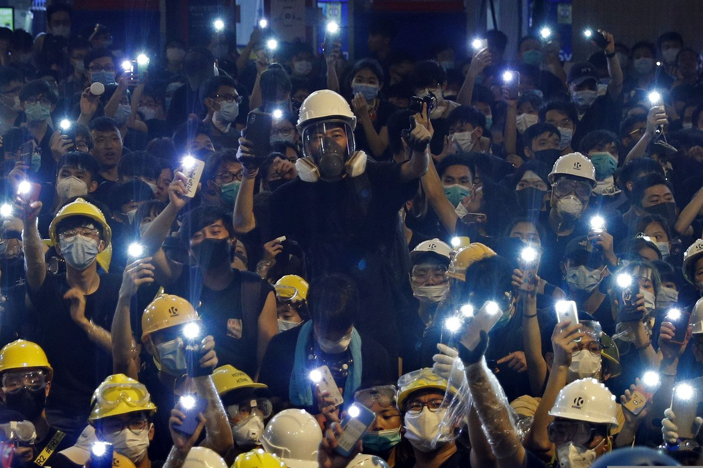 Fresh Hong Kong protest ends peacefully with demands unmet