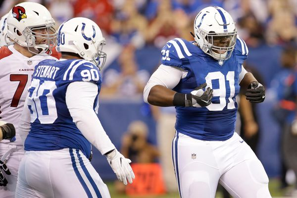 Former Colt Hassan Ridgeway trying to find a new home in Eagles' defensive-tackle rotation