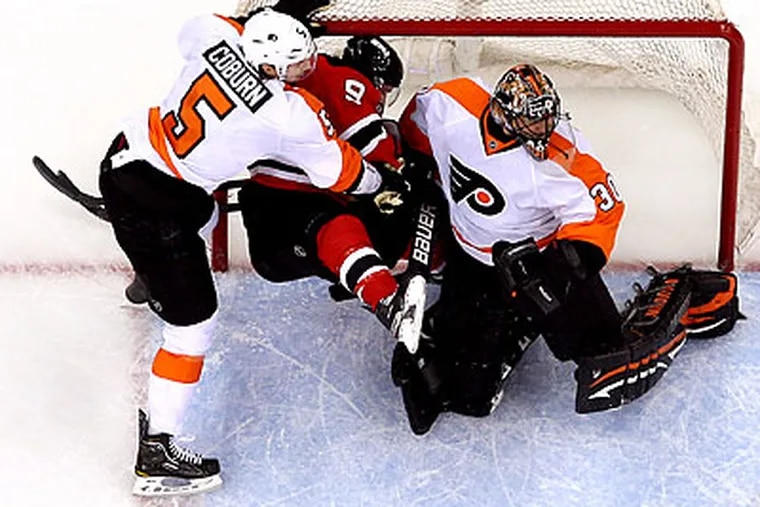 The Flyers are the deeper team, but they are in a 3-1 hole to the Devils. (Yong Kim/Staff Photographer)