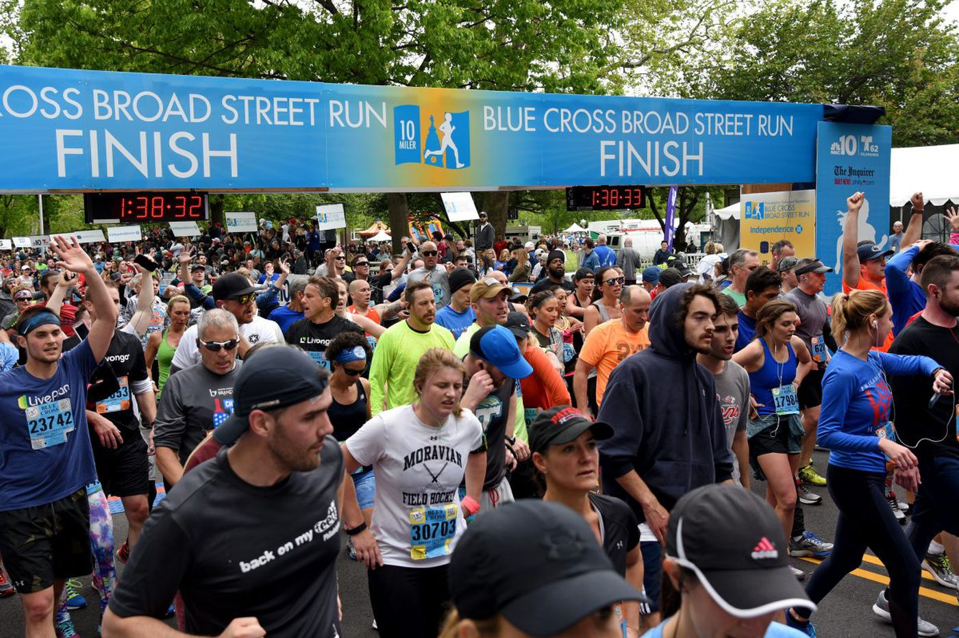 Broad Street 10-mile run is set for Sunday at 8 a.m.