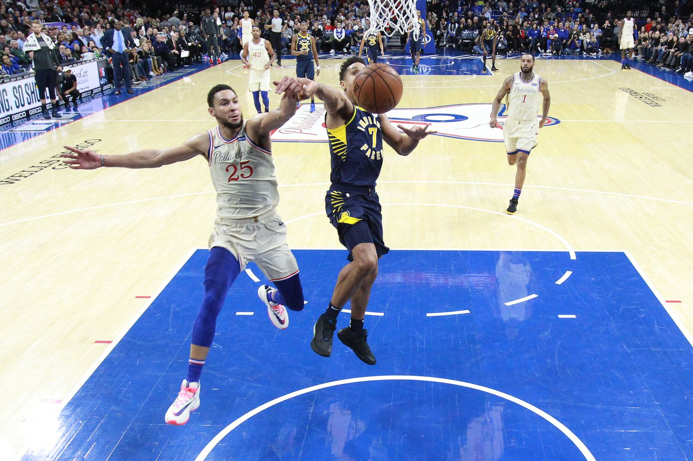 Sixers-Pacers best and worst: Embiid's third-straight double-double, Simmons' thievery, overcoming late shooting woes