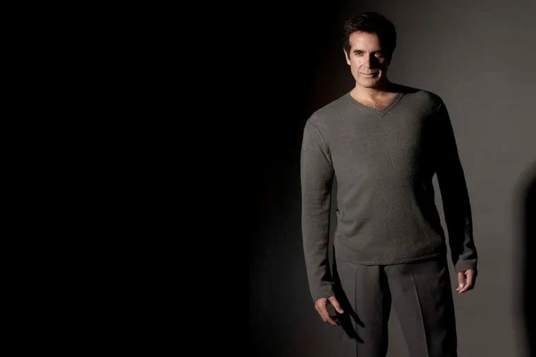 Magician David Copperfield is being inducted Saturday, Dec. 12, 2020, into Philadelphia's National Museum of American Jewish History hall of fame, along with Harry Houdini.
