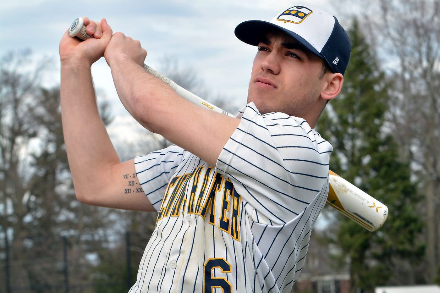 Penn Charter's Mike Siani is being watched closely by major-league scouts