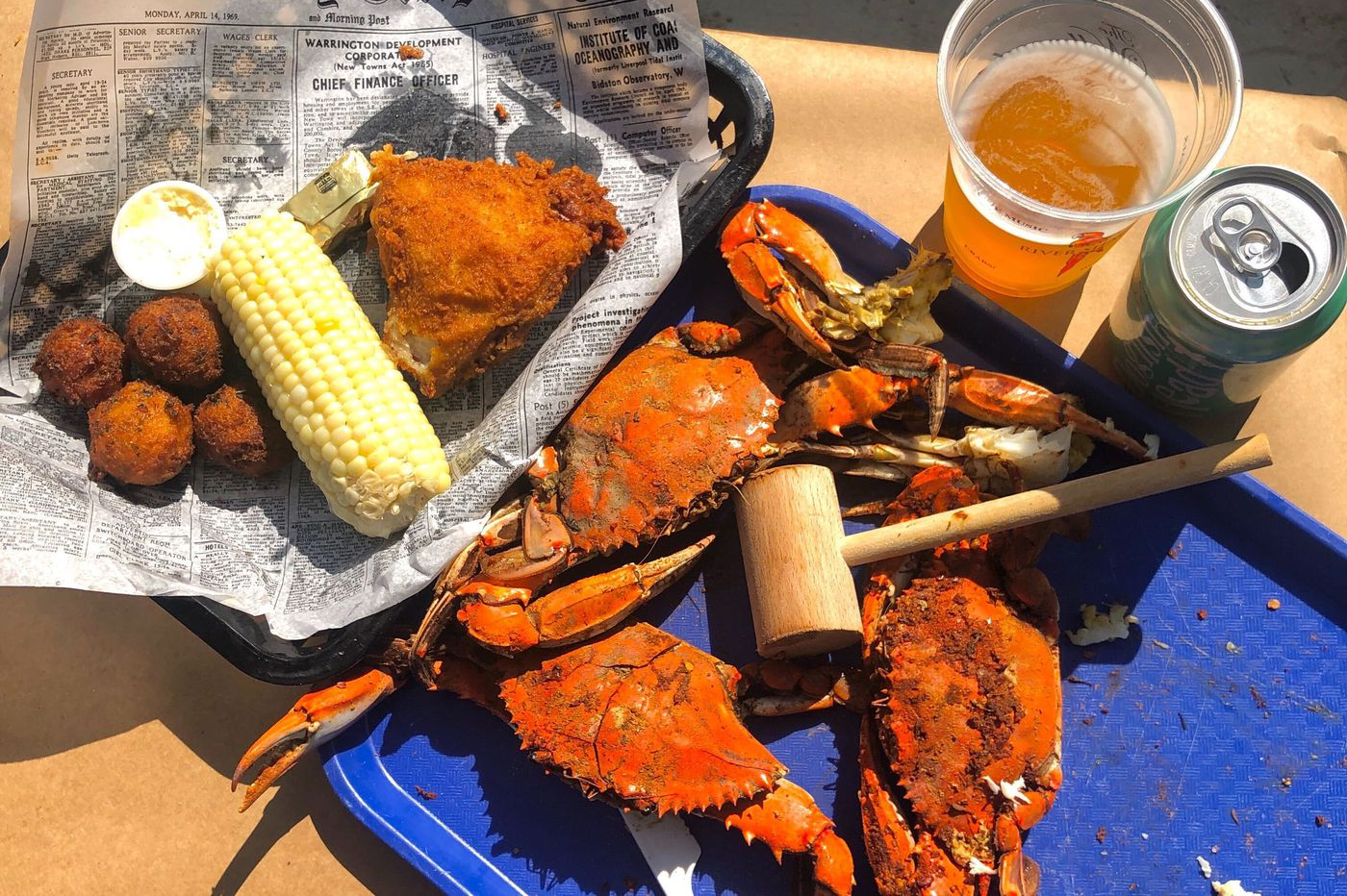 Take a road trip to Maryland for steamed crabs and fried chicken