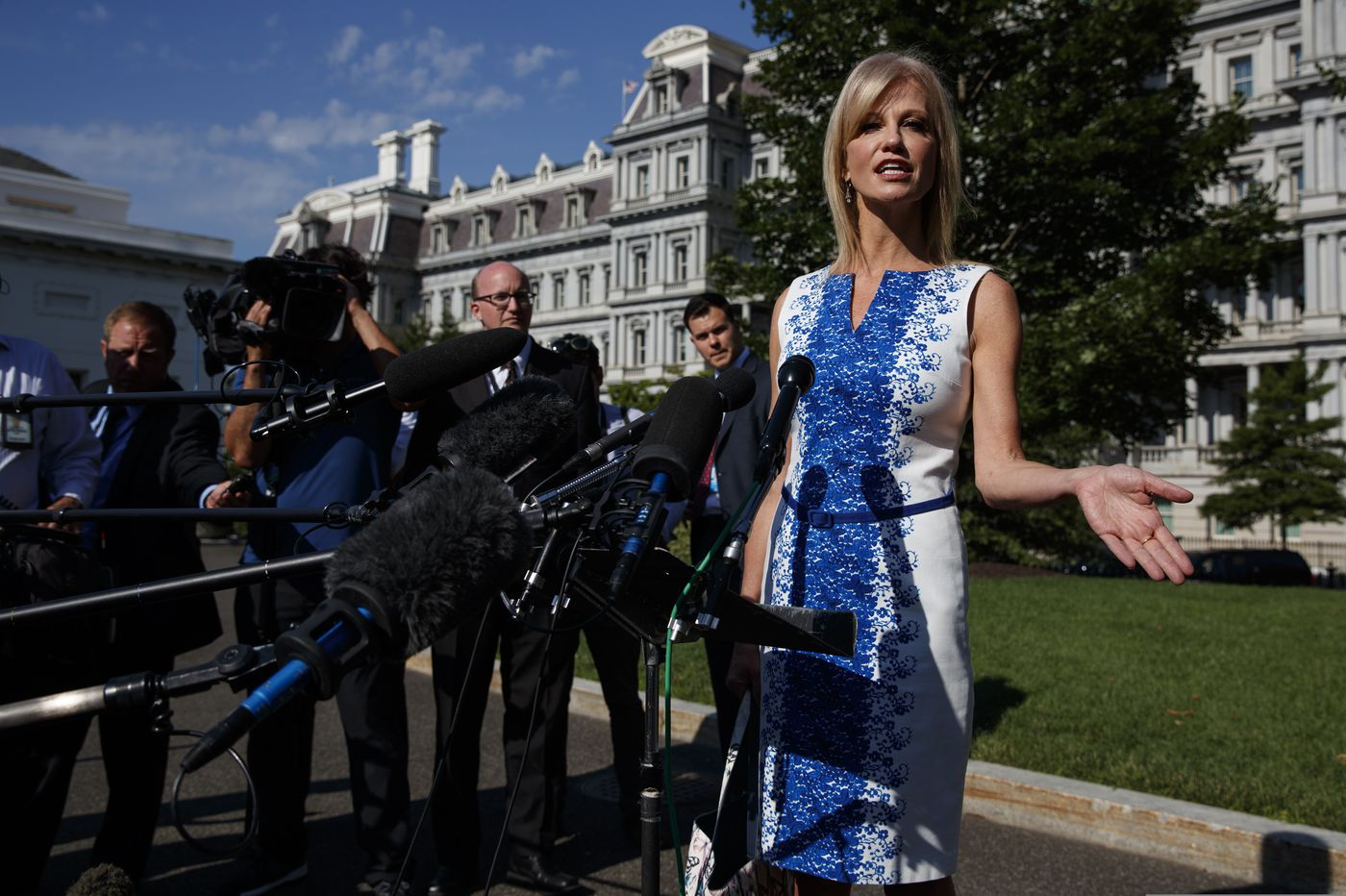 White House blocks Kellyanne Conway from House oversight hearing