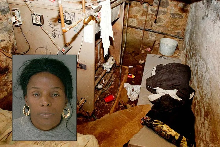 Linda Ann Weston (inset), 55. Authorities rescued four victims from the sub basement of a Tacony apartment building in October 2011. (RON CORTES/File photo)