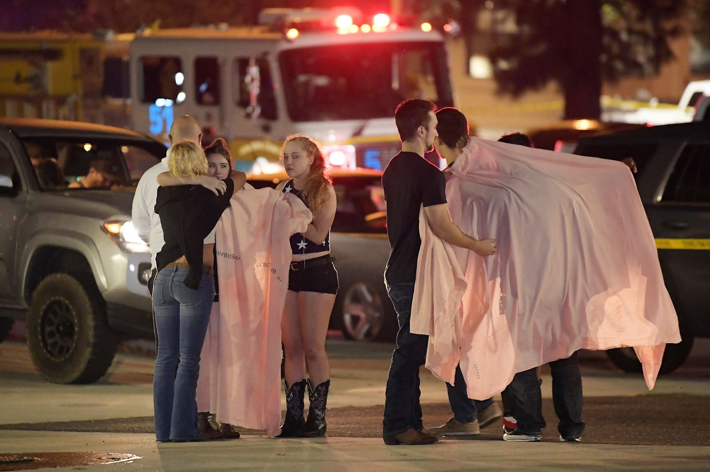'It's a horrific scene': California bar shooting leaves 12 dead, including police officer