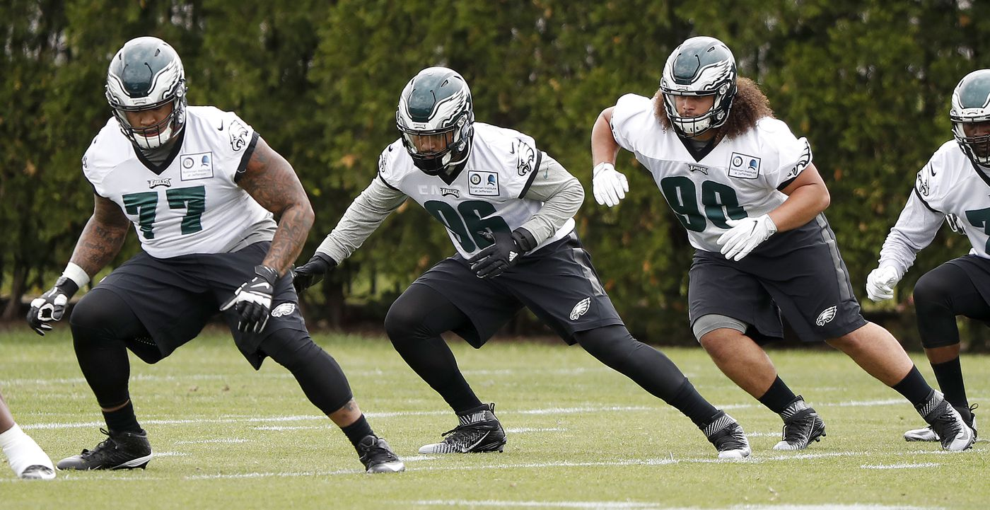 34e157b75 Eagles rookies biding their time in winning environment