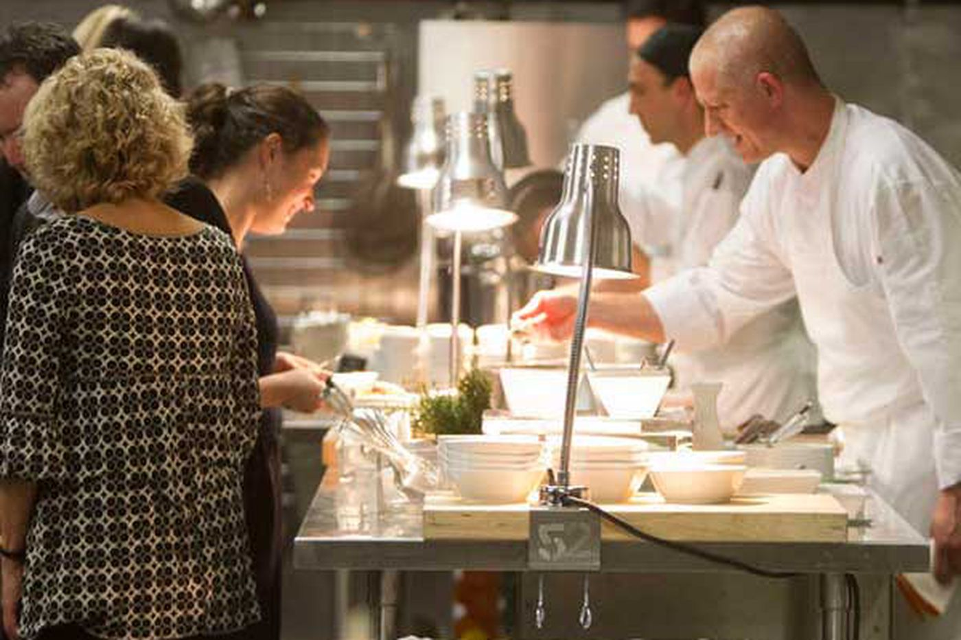 Catering offers a stable, more-profitable course