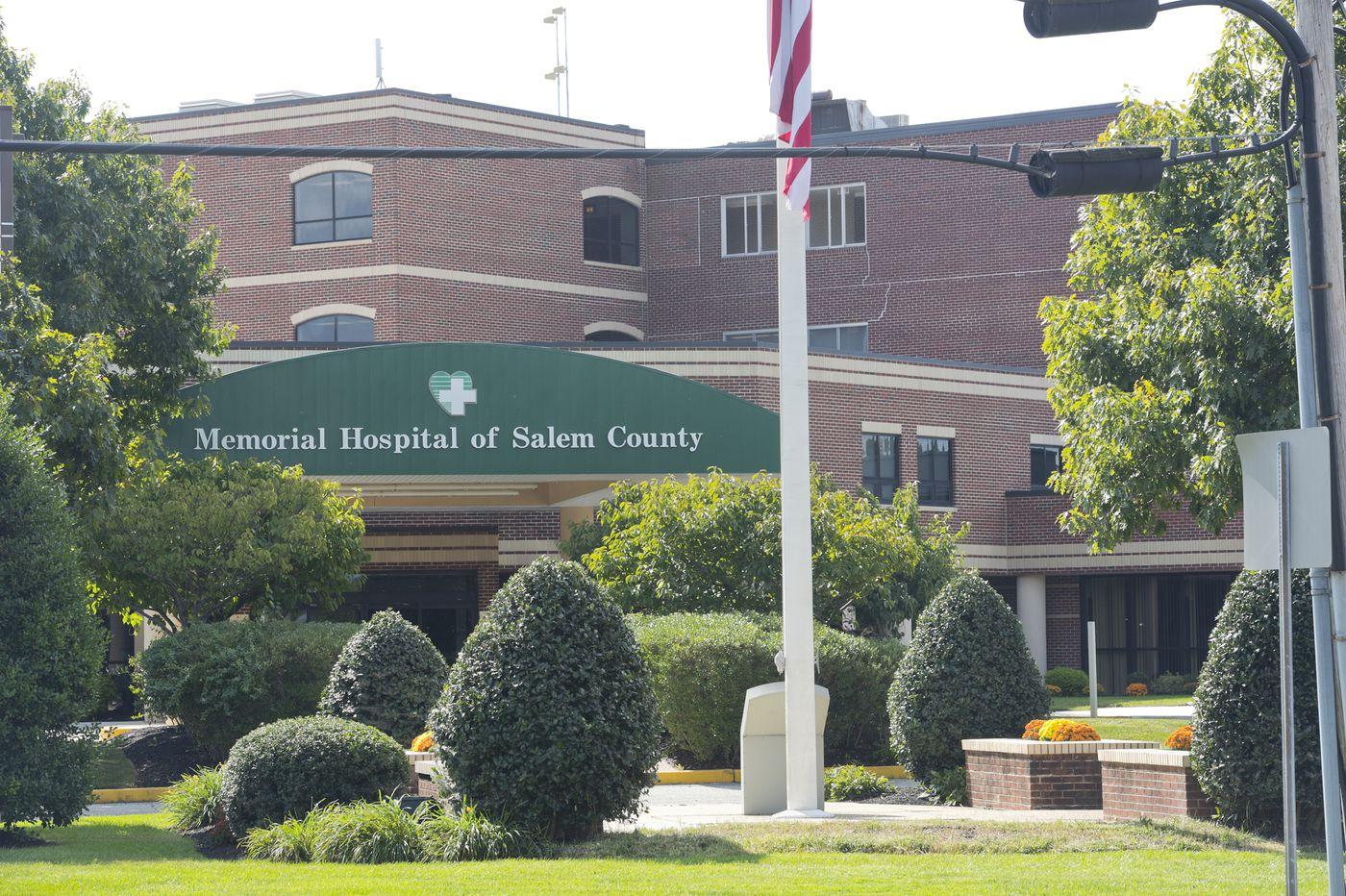 Meeting set on sale of Memorial Hospital of Salem County