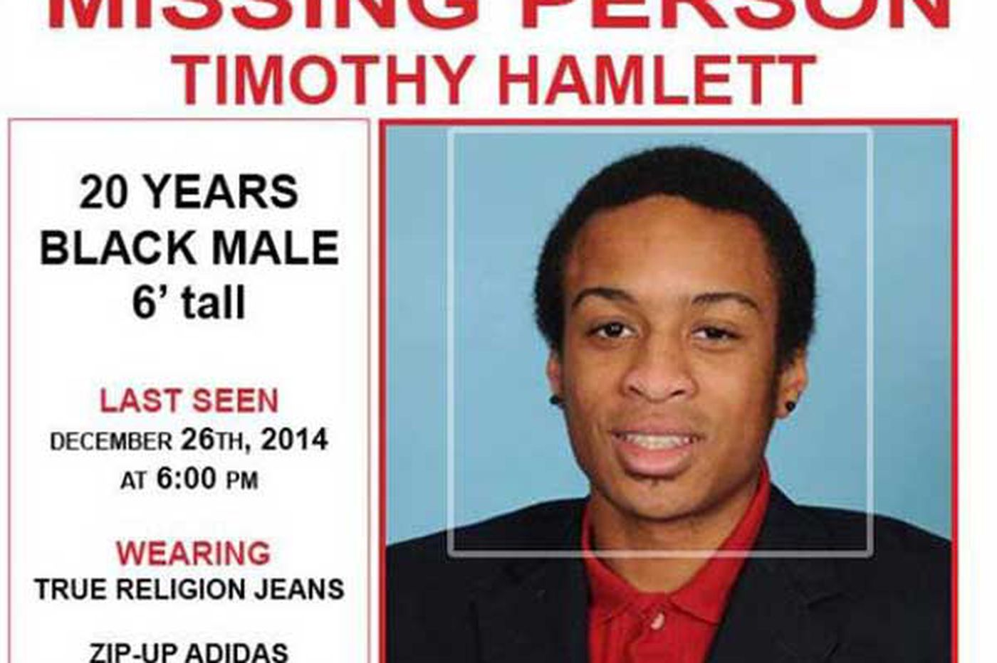 Ex-Penn track athlete reported missing in N.J.