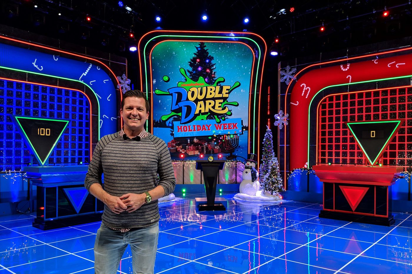 I'm the world's biggest 'Double Dare' fan