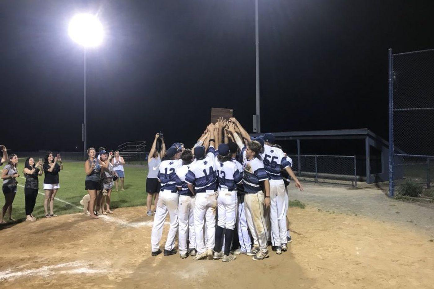 Saturday's Pa. roundup: Malvern baseball captures second straight PAISSA title
